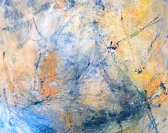 In Oceans Deeply (an original abstract painting)