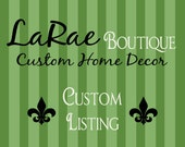 Custom Listing for Sharon