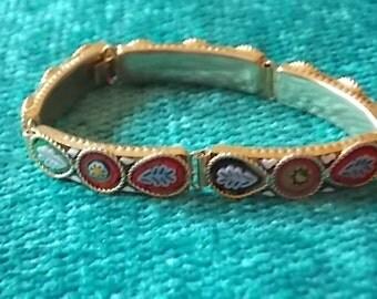 Vintage Micro  Mosaic  Bracelet Pretty