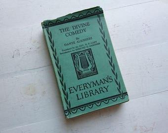 The Divine Comedy - Dante Alighieri - Everyman's Library - No 308 - 1931