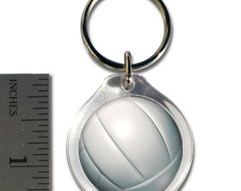 Small Volleyball Keychain