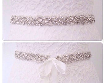 Wedding sash belt wedding dress sash,crystal wedding belt,