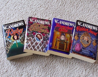 4 V C Andrews Books - Landry Series  - Horror Adult Books
