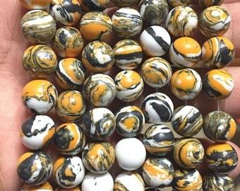40 HOWLITE Beads 10mm - COD7611