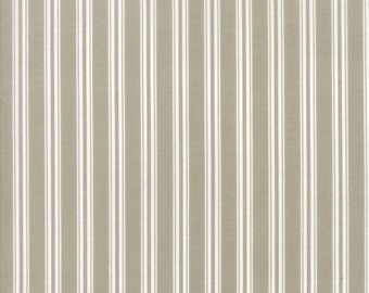 Tan Stripe Fabric - Darling Little Dickens by Lydia Nelson from Moda 1 Yard
