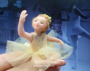 Minimariba Dolls -  The little beginner miniature dollhouse doll