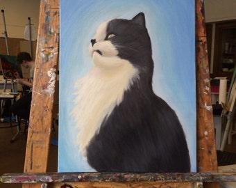 Pet Portrait Painting Commission