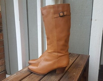 CORELLI    ///    Tall Leather Boots 9