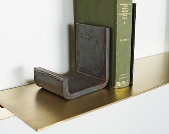 Flatform Steel Bookends