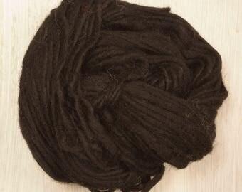 Yak Wool Yarn in Black