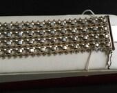 RESERVED for Sender: tripleplay123       MILOR Sterling Bracelet Riccio  PLUS Vintage Opisometer
