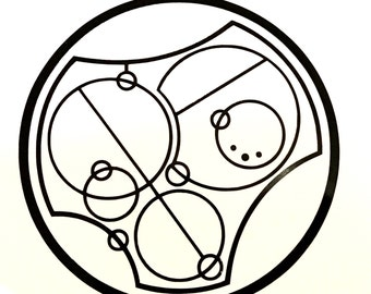 I love you -Gallifreyan vinyl decal