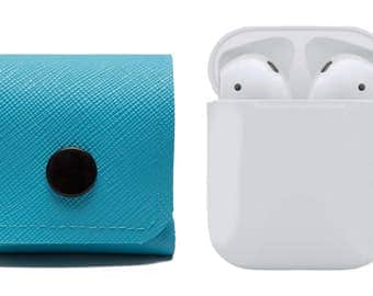 AirPods Case, Earphones Cover. Air Pods Carrying Solution. EarBuds. Belt Pouch. Vegan