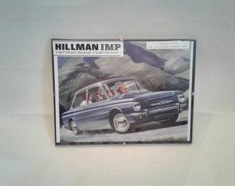 Original Automobile Vintage Advertisement