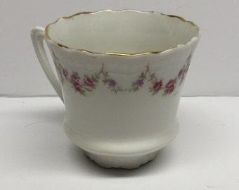 Demitasse Cup Footed Carl Tielsch Altwasser porcelain Germany CT Germany #9992 94