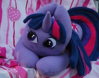 Twilight Sparkle Ponly Plush Pillow