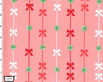 Peppermint Stripe on Pink from Michael Miller Fabrics