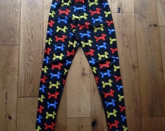 Balloon Dog Leggings - 3 Lengths