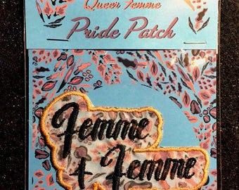 Queer Femme Pride Patch - Femme 4 Femme