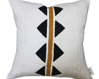 BD-2  Bogolan Pillow Cover (de)constructed