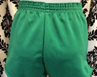 Green Machine Vintage Gym Shorts