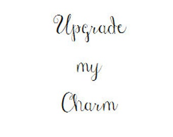 Charm Upgrade Add On to Any Jewelry Item in My Shop