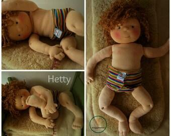 Waldorf baby doll, 20 inch doll - custom doll slot