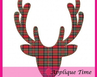 Instant Download Buck Silhouette Machine Embroidery Applique Design 4x4, 5x7 and 6x10