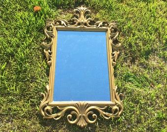 Large Filigree Mirror