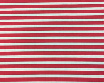 Red Stripes - By the Yard