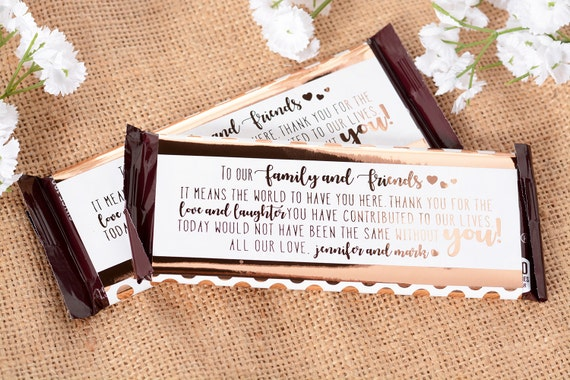 Wedding Candy Wrappers