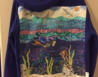 SALE Mermaids hoodie size large
