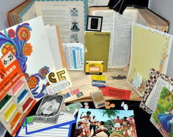 Vintage Ephemera 20 PC. Mixed Pack