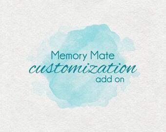 Memory Mate Customization add-on