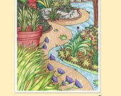 PDF DIGITAL - Delightful Journeys Coloring Book