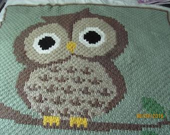 Owl Afghan