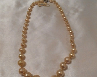 50% OFF SALE Faux String of Pearls From The Emporium