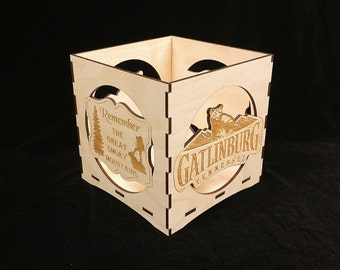 Gatlinburg Candle Lantern-The Great Smoky Mountains Candle Lantern- Dollywood Foundations Fund- My People Fund