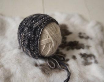 Classic Knit Bonnet Hat Newborn Photography Prop