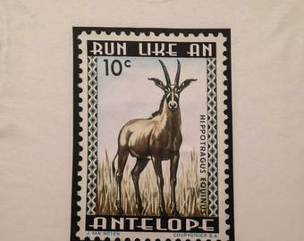 Bella Junior Fit Run like an Antelope limited edition Phishy tribute tee