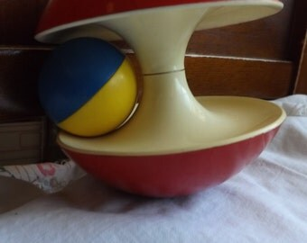 """Vintage """"Rolling Ball"""" Toy"""