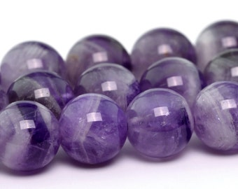 "8MM Lavender Amethyst Beads Grade A Genuine Natural Gemstone Loose Beads 15.5"" BULK LOT 1,3,5,10 and 50 (100716-309)"