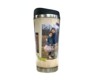 Coffee Tumbler - Travel Mug - Personalized Coffee Tumbler - Coffee Mug - Photo Tumbler - Travel Coffee Mug - Custom Tumbler - Photo Mug
