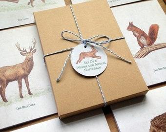 Woodland Animal Notecards Set