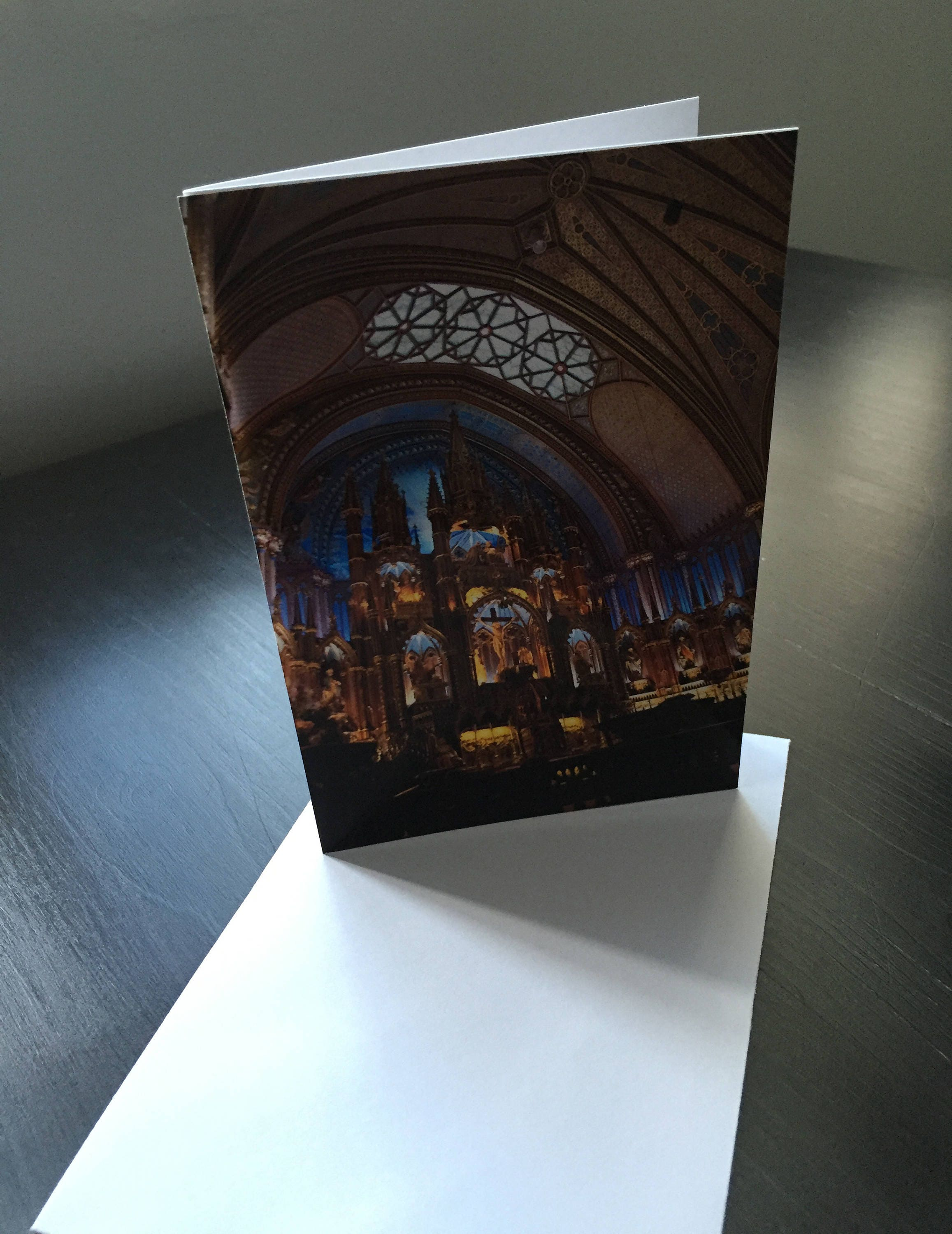 Handmade 4x6 blank greeting card notre dame basilica old montreal handmade 4x6 blank greeting card notre dame basilica old montreal kristyandbryce Image collections