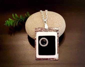 Elegant Black Necklace Pendant