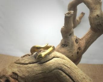 Mystical Snake Ring