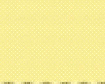 Quilting Treasures - Sorbets - Mini Dots - Yellow