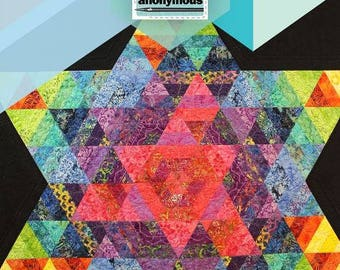 Quilt Addicts Anonymous - Refraction Quilt Pattern