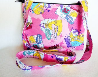 Kid's Crossbody Bag:Beauty and the Beast